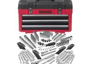 Craftsman 3 Pc. socket Rack Set Craftsman 182 Pc Mechanics tool Set with 3 Drawer Chest Shop Your