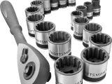 Craftsman socket Rack 1/2 Craftsman 19 Pc 3 8 Drive Universal socket Wrench Set