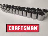 Craftsman socket Rack Set Craftsman 23 Piece 1 4 Drive 6 Point socket Set Amazon Com