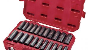 Craftsman socket Rack Studs Craftsman 23 Pc Easy to Read Deep Impact Inch Metric socket Set