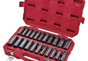 Craftsman socket Rack Studs Craftsman 23 Pc Easy to Read Deep Impact Inch Metric socket Set