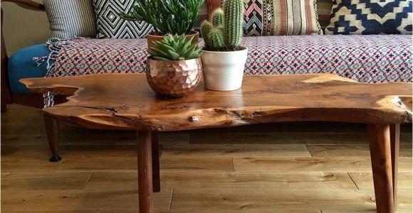 Crate and Barrel Live Edge Floor Mirror Mid Century Walnut Live Edge Coffee Table Family Room Pinterest