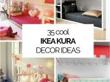 Cute Girls Bedroom Ideas 35 Cool Ikea Kura Beds Ideas for Your Kids Rooms Digsdigs