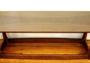 Danish Coffee Table Mid Century Modern Surfboard Coffee Table This is A Mid Century