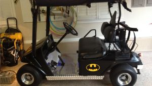 Decorated Golf Carts for Halloween My Batman Golf Cart Places Pinterest Golf Carts and Golf