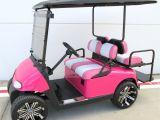 Decorated Golf Carts Ideas 19th Hole Golf Carts Hot Pink Ezgo Golf Cart with Custom