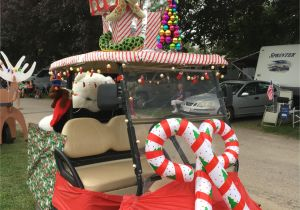 decorated golf carts ideas christmas in july at strawberry park golf cart ideas pinterest