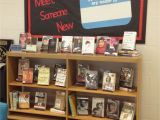 Decorative Books for Display Meet someone New Library Book Display Bulletin Board Featuring