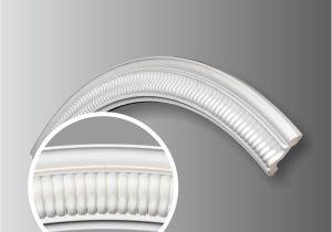Decorative Metal Trim Molding Polyurethane Ceiling Ring Moulding For