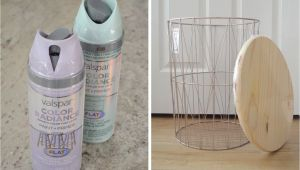 Decorative Metal Wire Trash Can How to Wire Trash Can Turned Side Table
