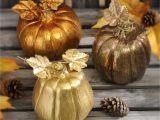 Decorative Pumpkins for Sale Metallic Mini Pumpkins Set Of 3 Pinterest Mini Pumpkins