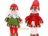 Decorative Santas 3 32 Christmas Santa Claus Snowman Xmas Tree Hanging ornaments