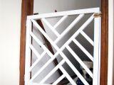 Decorative Wooden Baby Gates Diy Geometric Baby Gate Pinterest Diy Baby Gate Baby Gates and