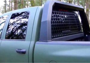 Dee Zee Headache Rack Lights Headache Rack Dodge Santiam Truck Youtube