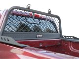 Dee Zee Mesh Headache Rack Dee Zee Headache Rack Steel Aluminium Mesh Truck Rack