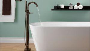 Delta Freestanding Bathtub Delta Faucet T4759 Rbfl Trinsic Venetian Bronze