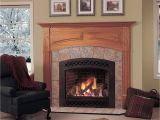 Direct Vent Gas Fireplace with Mantle Majestic Lexington Direct Vent Gas Fireplace From Hayneedle Com