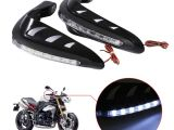 Dirt Bike Led Light Bar 1 Pair Universal Motorcycle Handguards Motocross Hand Guards One Set