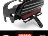 Dirt Bike Led Light Bar Black Tri Bar Led Fender Turn Signal Tail Light License Plate