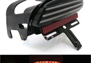 Dirt Bike Led Light Bar Black Tri Bar Led Fender Turn Signal Tail Light License Plate