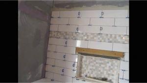 Ditra Connection to Bathtub Surround Ceramic Subway Tile Tub area