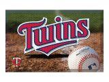 Diy Baseball Field Rug Minnesota Twins Mlb Scraper Doormat 19×30 Products Pinterest