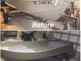 Diy Boat Interior Repair Ol Bessie Matt S Jon Boat Revamped Turned Out Pretty Damn