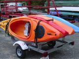 Diy Double Kayak Roof Rack Kayak Trailer Rack Single Tier 4 Kayaks Rack Kayak 4 Kayaks