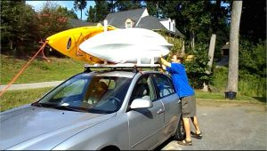 Diy Double Kayak Roof Rack Pvc Dual Kayak Roof Rack for 50 Getting In Shape Pinterest