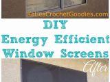 Diy Interior Storm Window Panels Diy Energy Efficient Window Screens Pinterest Energy Efficient