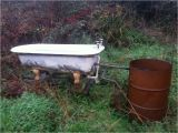 Diy Outdoor Bathtub Make An Offer Wood Fired Cast Iron Hot Tub Outdoor Bath Very