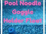 Diy Pool Float Rack Diy Pool Noodle Goggle Holder Float Summer Crafts Kids Pool