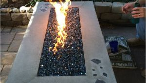 Diy Water Vapor Fireplace Build Your Own Gas Fire Table Www Easyfirepits Com Patio Design