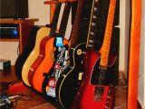 Diy Wooden Guitar Rack Diy Pallet Guitar Stand My Stuff Pinterest Guitar Stand