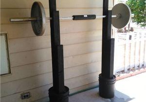 Diy Wooden Squat Rack Plans How to Build A Squat Rack How to Build A Bench Press Pinterest