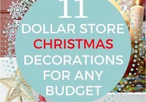 Dollar General Christmas Decorations 11 Glamorous Dollar Store Christmas Decorations for Any Budget