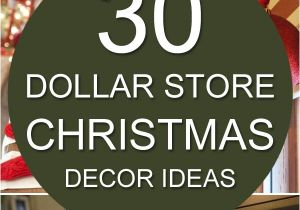 Dollar General Christmas Decorations 30 Dollar Store Christmas Decor Ideas Pinterest Dollar Stores