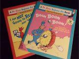 Dr Seuss Rug Uk 1995 Dr Seuss Beginner Fun Book 2 Book Set Preschool Thru