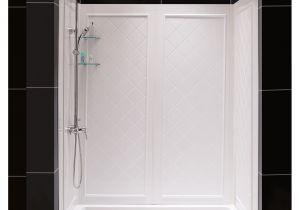 Dreamline Shower Base Installation Dreamline Slimline 36 In by 60 In Single Threshold Shower Base and