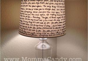 Drum Lamp Shades Bed Bath and Beyond Diy Quote Lampshade Diy Crafting Pinterest Diy Lamp Shades