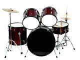 Drum Set Lights Kadence 5p Pro Beginner Drumset Black Buy Kadence 5p Pro Beginner