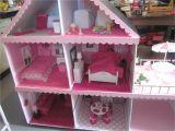 Easy Barbie Doll House Plans Barbie Doll House Things I Ve Made Pinterest Barbie Doll House