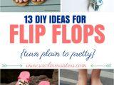 Easy Flip Flop Decorating Ideas 13 Diy Flip Flop Ideas Pinterest Flip Flop Craft Flip Flops Diy