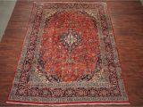 Ebay 9×12 oriental Rugs 10×13 Persian Kashan Hand Knotted oriental Wool area Rug Carpet 9 6