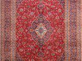 Ebay 9×12 oriental Rugs Excellent Vintage Floral Red 8×11 Kashan Persian oriental area Rug