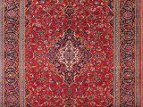 Ebay 9×12 oriental Rugs Vintage Traditional Floral 8×12 Kashan Persian oriental area Rug 11