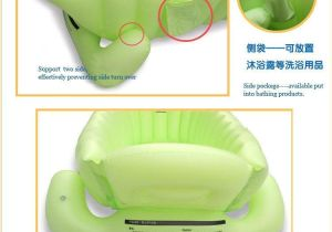 Eco Friendly Baby Bathtub Real top Fashion Baby Ring Inflatable Tubs Infant