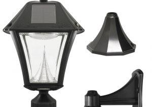 Edison Light Bulbs Home Depot solar Post Lighting Outdoor Lighting the Home Depot