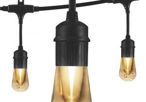 Edison Light Bulbs Home Depot Trex Decklighting Black Led Riser Lights 4 Pack 5449050 the Home