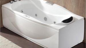 Ego Whirlpool Bathtub Eago 71 In Acrylic Flatbottom Whirlpool Bathtub In White